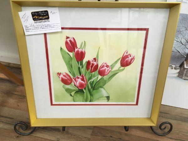 Red Tulips - Paula R Melton